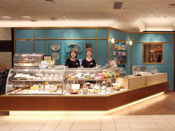 人気鉄板料理店「うかい亭」で提供している食後のプティフール