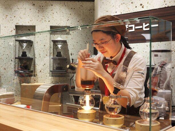 珈琲に合った抽出方法で楽しめる『サザコーヒー』